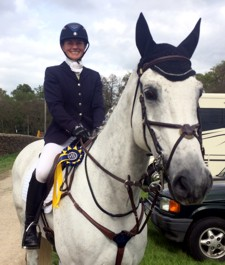 Emma and Soltaire Jsutice finish 9th in tne CIC3* at Chatsworth 2015